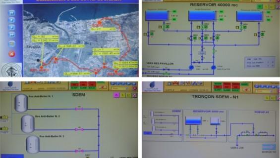 Telecontrollo acquedotto Skikda (Algeria)